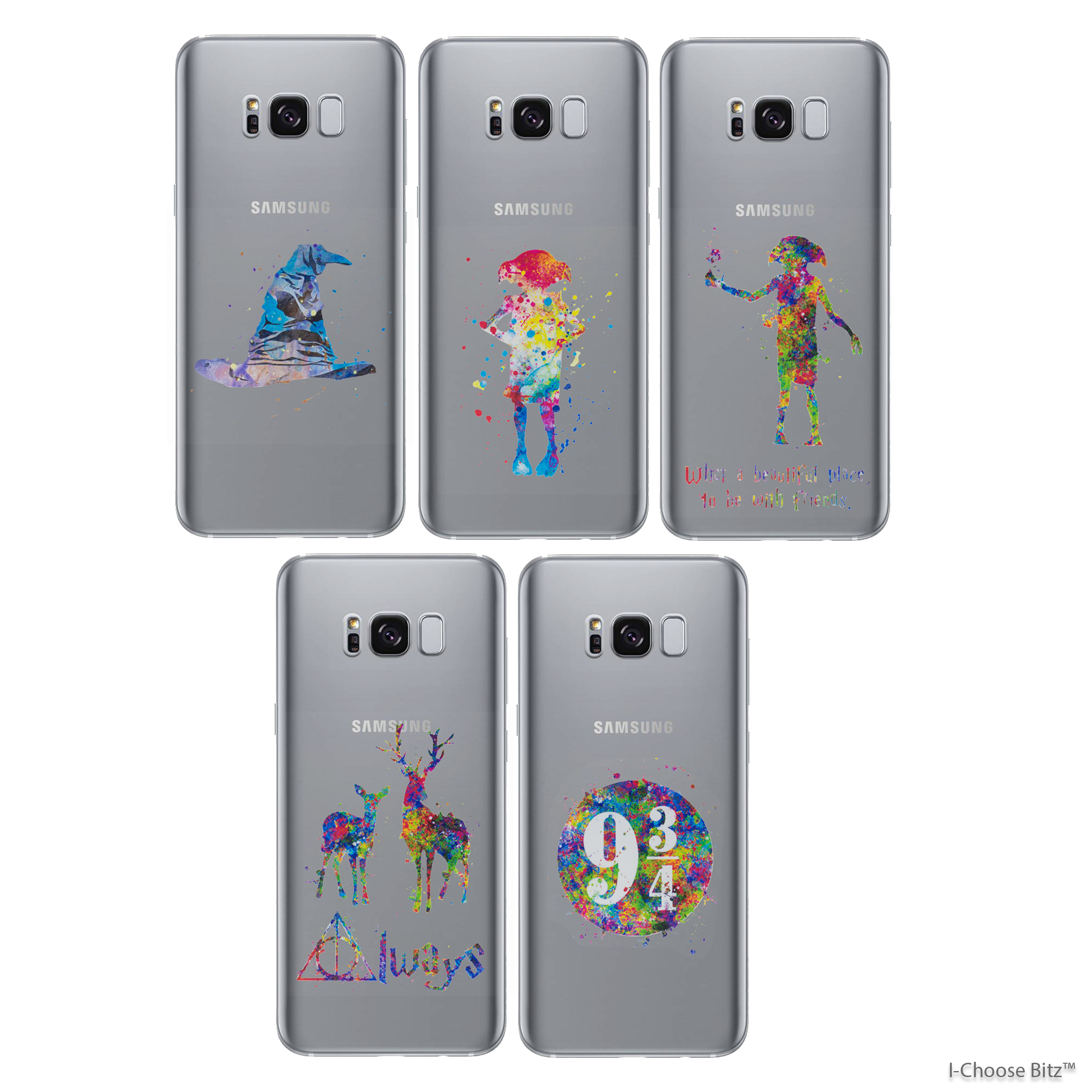 sale retailer ae4ef fbaaa Details about Harry Potter Fan Art Case/Cover Samsung Galaxy  7/8/9/Edge/Plus / Silicone Gel